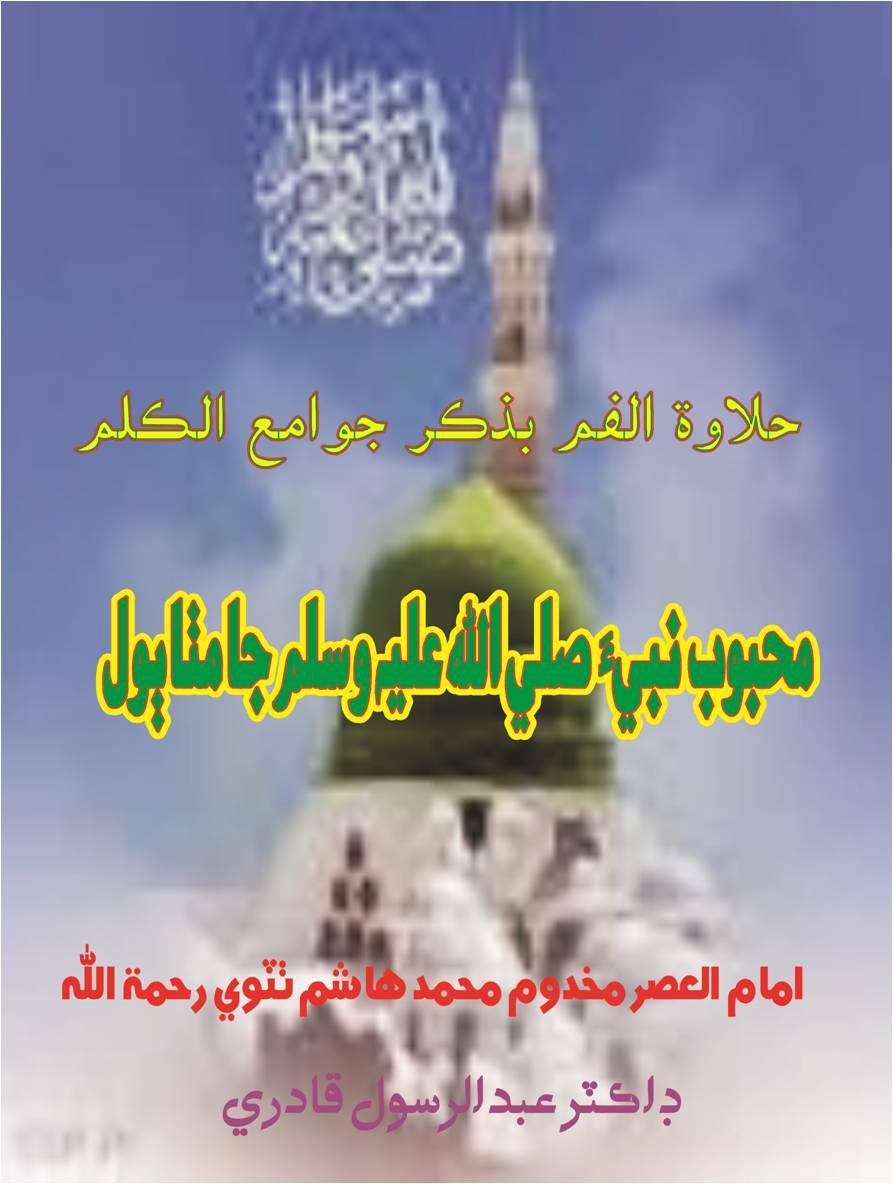 محبوب نبيءَ ﷺ جا مٺا ٻول, ليکڪ : مخدوم محمد هاشم ٺٽوي